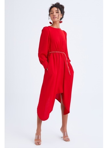 Quzu Elbise Kırmızı